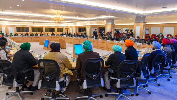 Farmers-Centre meet underway: Will be decisive, says Minister