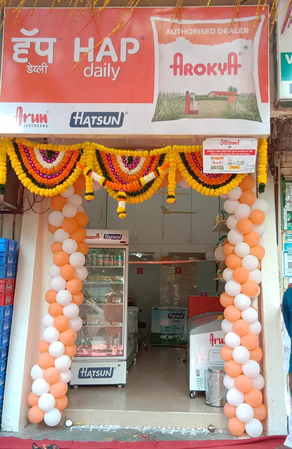 Hatsun Agro Product Ltd reaches retail milestone with 3000th Outlet