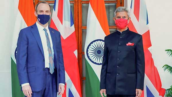 Jaishankar, Raab to draw up 10 year roadmap for quantum jump in Indo-UK relations