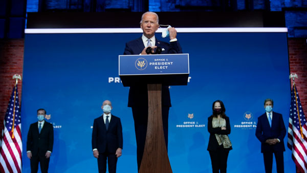 Enough electors for Biden to become US President