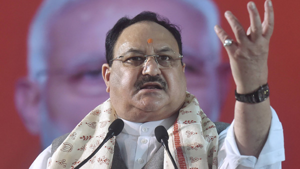 A month after convoy attack, J P Nadda launches Ek Mutthi Chawal campaign in Bengal