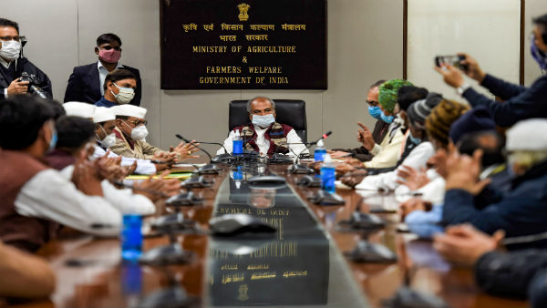 Farm laws stir: Govts 6th round of meeting with farm leaders today