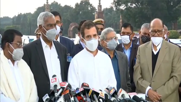 How many sacrifices will farmers have to make to get farm laws repealed: Rahul Gandhi