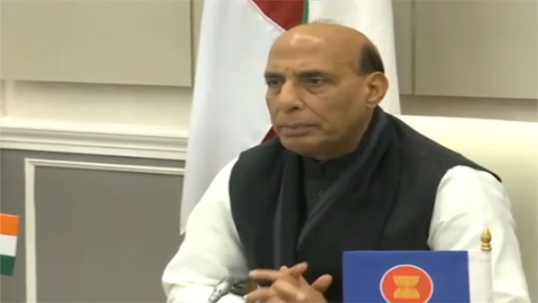 Need to address threats posed by bio-terror: Rajnath at ADMM-Plus