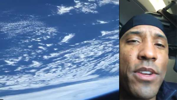 Little blue marble: NASA astronaut posts his first video of Earth from space