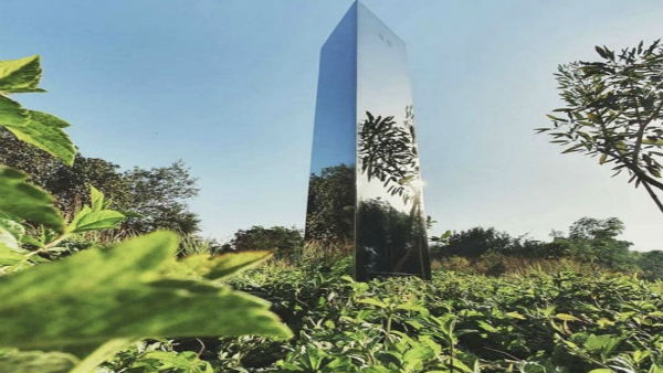 Now, mysterious monolith surfaces in park in Ahmedabad