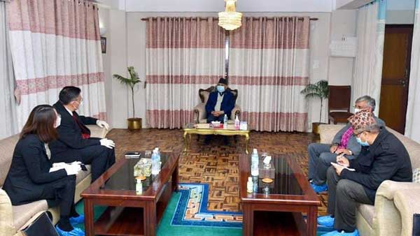 China appeals to warring factions in Nepal to handle political crisis properly