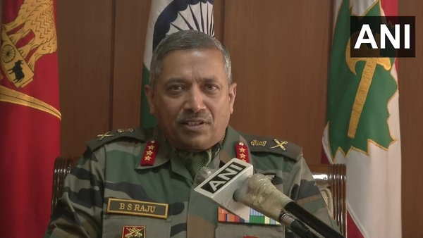 Present strength of terrorists in Kashmir lowest in last decade: Lt Gen B S Raju