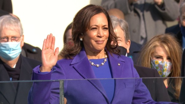 Ready to serve: Indian-origin Kamala Harris sworn in as America's first woman Vice President
