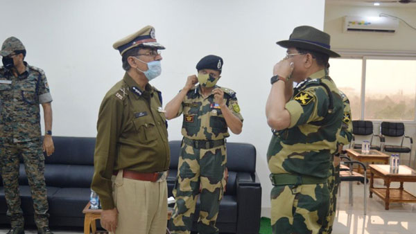 BSF reviews left wing extremism situation in Odisha
