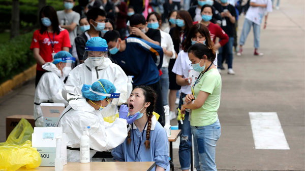 China reports first case of new COVID-19 variant: CDC