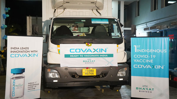 Bharat Biotech's Covaxin shipped to 11 cities