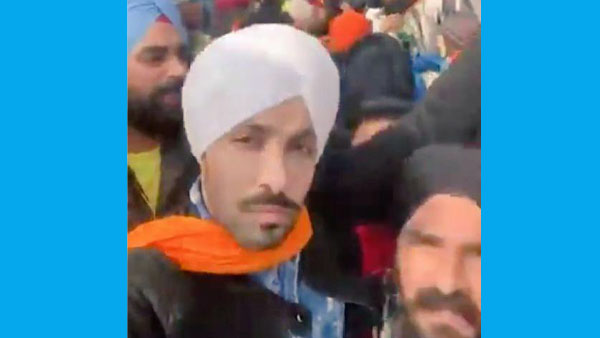 BJP planted stooge Deep Sidhu to create chaos in tractor rally: AAP