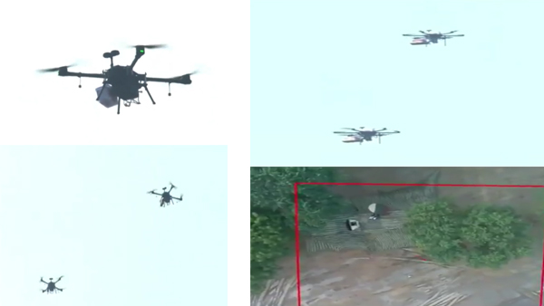Watch: Indian Army demonstrates drone swarms during Army Day parade