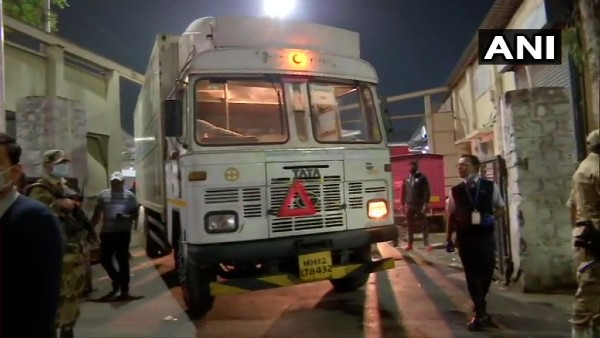 3 trucks carrying Covishield vaccine leave Pune's Serum Institute