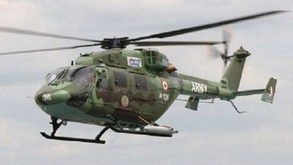 J&K: Pilot dead as Army chopper crash-lands in Kathua, another injured