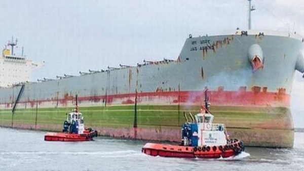 Cargo vessel MV Jag Anand all set to bring 23 Indian sailors stuck in China back home today