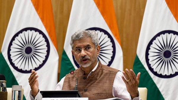 EAM Jaishankar holds telephonic conversation with US Secretary of State Blinken
