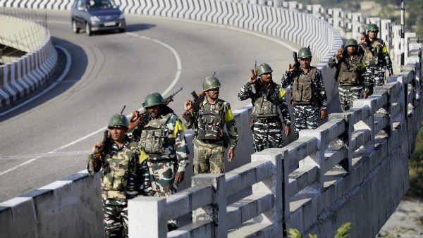 72nd Republic Day: Security beefed up across Kashmir, forces carry out area-domination exercise in Srinagar