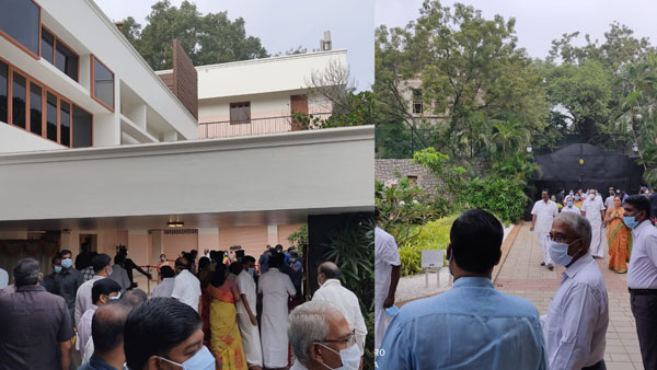 Jayalalithaas Veda Nilayam house, converted into memorial, prohibits public entry