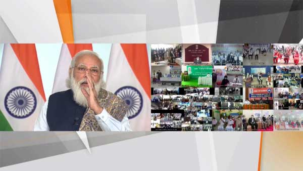 Highlights of PM Modi's speech at vaccination drive