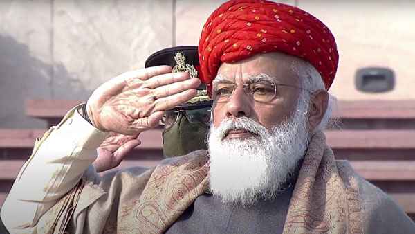 Republic Day 2021: The special turban PM Modi sported is a gift from Jamnagar royal family