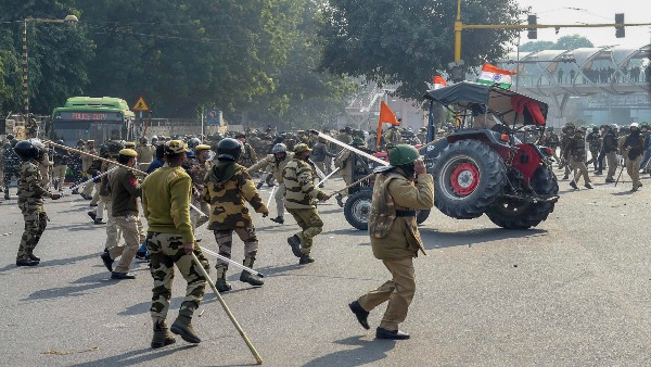 Farmers protest led to extensive damage to public property, many policemen injured: Delhi Police