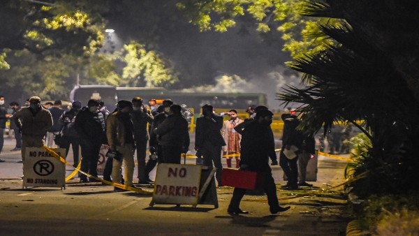 Minor blast near Israeli Embassy in New Delhi; IB issues alert for all airports