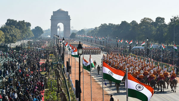 72nd R-Day parade ended at venue where first Republic Day celebrations were held