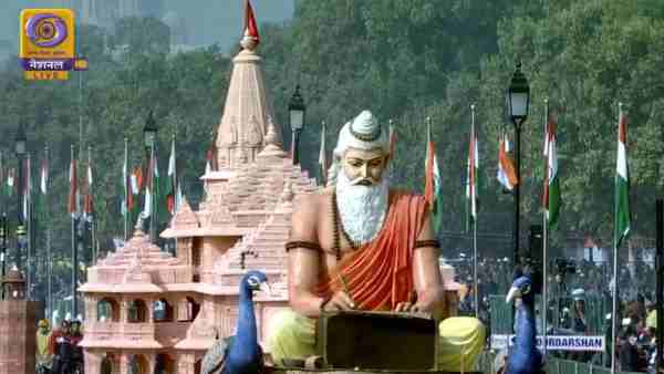 Ayodhya Ram Temple model at Republic Day Parade gets standing ovation