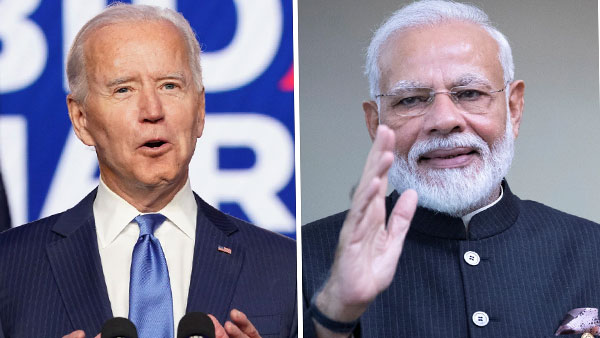 PM Modi speaks to US President Biden; Discuss security in Indo-Pacific region, climate change