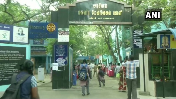 TN: Schools reopen for class 10th, 12th in Chennai today after a gap of over nine months