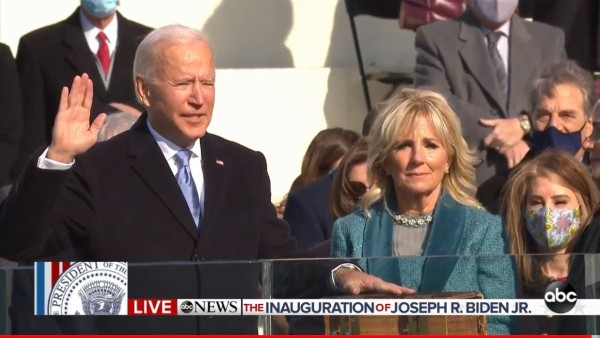 Joe Biden takes oath as 46th president of the United States, says 'This is America's day'