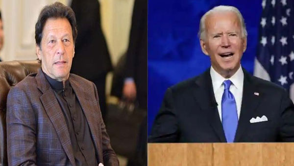 Pak PM congratulates Biden, expresses desire to work with him