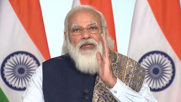 PM Modi launches vaccination drive, more than 20 crore people to be covered by second phase