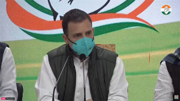 New farm laws enacted to destroy Indian agriculture: Rahul Gandhi