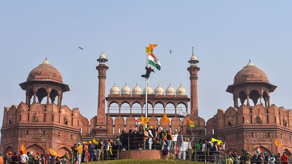 Family of Red Fort flag hoister flees village