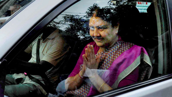 Sasikala released from jail after serving 4 years imprisonment in DA case