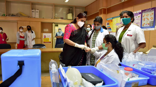 Number of people vaccinated against COVID-19 more than double number of active cases:Govt