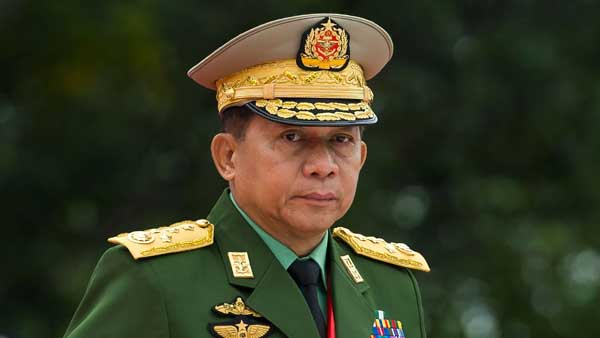 Was inevitable: Myanmar Army chief on military coup