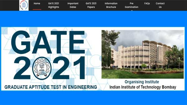 GATE 2021 response sheet released: Link to download