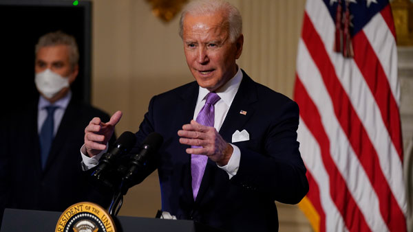 Challenge posed by China will be taken on directly says Biden