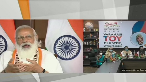 PM Narendra Modi inaugurates The India Toy Fair 2021 via video conference