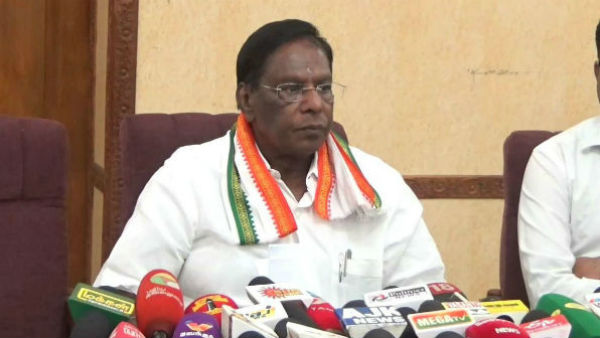 My govt enjoys majority in Puducherry: V Narayanasamy