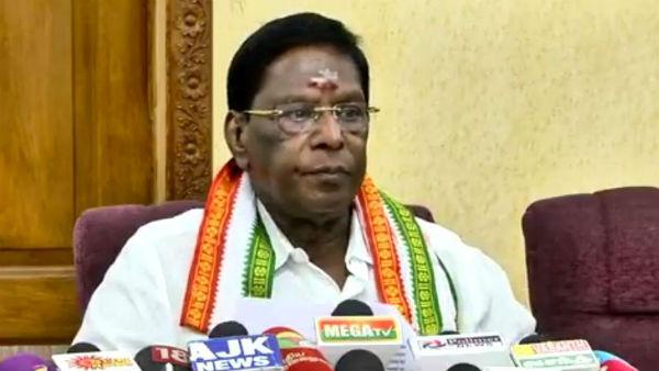 Puducherry Floor Test: CM V Narayanasamy loses trust vote in Assembly