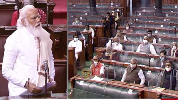 Beware of FDI-Foreign Destructive Ideology: PM Modi in Rajya Sabha