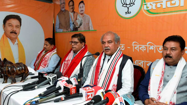 Assam elections 2021: BJP to form govt with more seats says Tomar