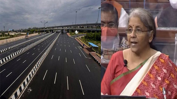 Union Budget 2021: FM announces highway projects in 4 poll bound states