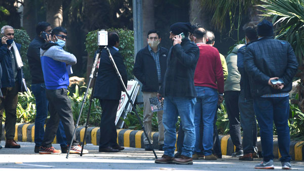 Israel Embassy blast: NIA, Mossad exchange leads