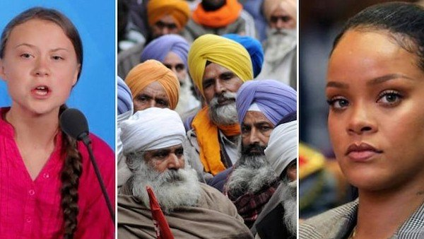 India's farmers in global spotlight: Ministers, Bollywood biggies vs Rihanna, others